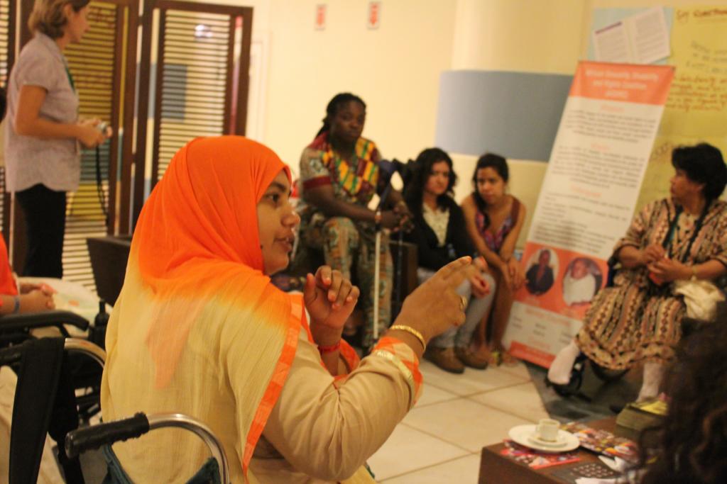 Misti Ashrafun, Women with Disabilities Development Foundation, speaks out