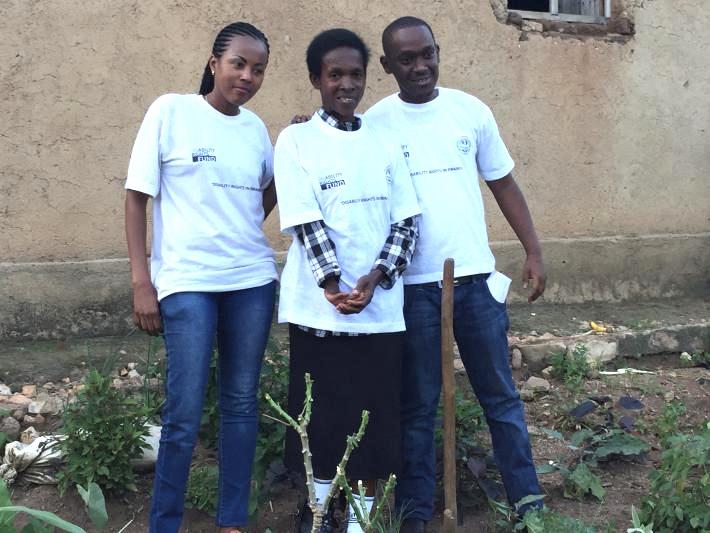 Mukandoli Seraphine and family, Rwanda