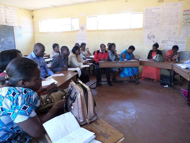 DIWA teacher training workshop