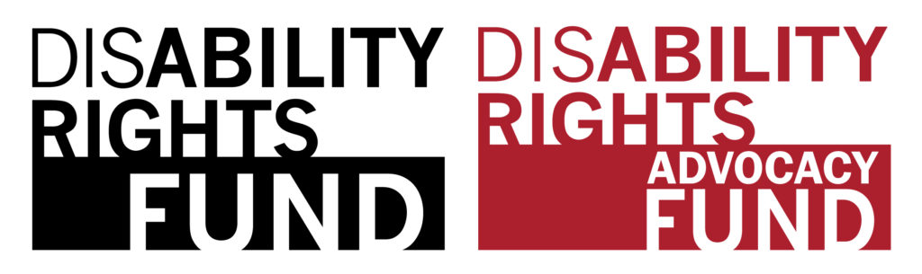 Disability Rights Fund and Disability Rights Advocacy Fund logo