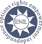 European Network on Independent Living logo