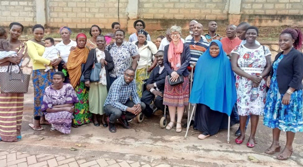 DFID and DRF listen to refugees with disabilities, organized by NUWODU