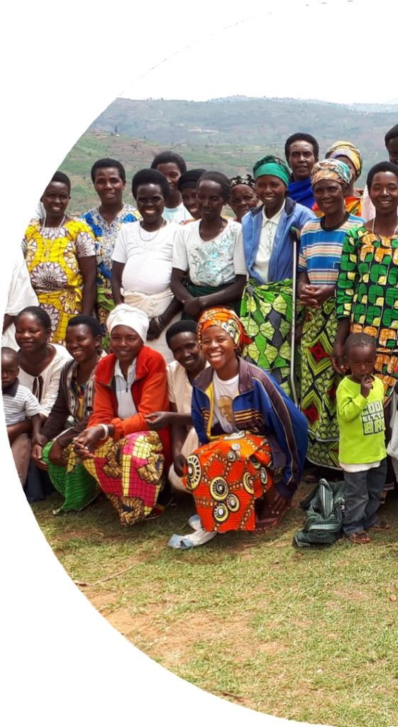 Group photo of women activists